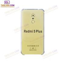 Case Anti Shock Anti Crack Softcase Casing Xiaomi Redmi 5+ Plus