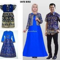 Super Sale Couple batik keluarga sarimbit family baju seragam pesta S