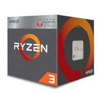 AMD Raven Ridge Ryzen 3 2200G with Radeon Vega 8 AM4 (YD2200C5FBBOX)