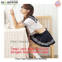 BAJU WANITA PROMO Sexy Uniform 001 Seragam Sekolah Japan
