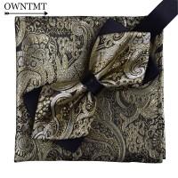 dasi kupu batik gold import dan pocket square handkerchief sapu tangan