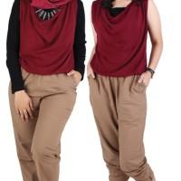 Busana Muslim Wanita, Dress , Casual Long Dress, Gamis, Jumpsuit-16