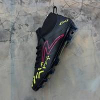 Sepatu Bola Specs Swervo Thunderstorm FG Black Solar Original Promo