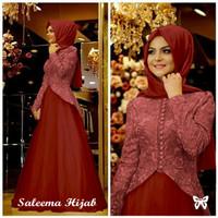 Saleema Hijab Gamis abaya syar'i baju pesta