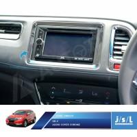 Honda HRV List Audio Dashboard JSL Aksesoris / Audio Cover Chrome