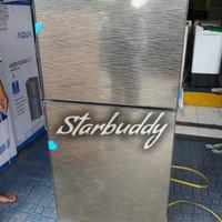 Kulkas 2 Pintu Sharp SJ-246XG - MS Tempered Glass Door - Jabodetabek
