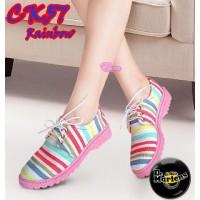 MURAH Flat Shoes Docmart CK57 Rainbow