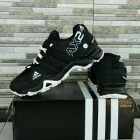 PROMO Sepatu Adidas AX2 Goretex Go Trex Black White Hitam Putih