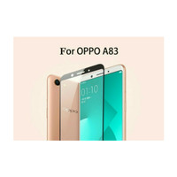 Tempered Glass Full 3D Oppo A83 Screen Protector Curved Warna