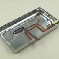 iPod Classic 5th 60GB 80GB Metal Back Housing Cover Audio Jack Flexi