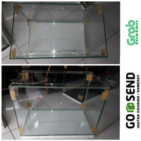 Aquarium Kaca 50x30x35 (Untuk bawah rak 60x30)