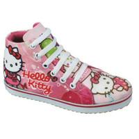 CBB117 CJ Sepatu Boots Anak Perempuan Hello Kitty Ping Komb. Cantik