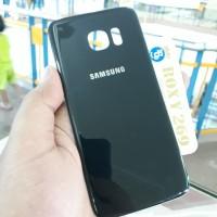 Tutup Casing HP SAMSUNG S7 Edge BLACK SAPPHIRE. Backdoor Back door