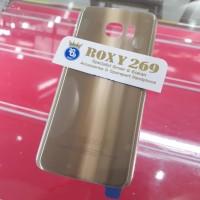 Tutup Casing HP SAMSUNG S7 Edge GOLD - EMAS . Backdoor Back door case