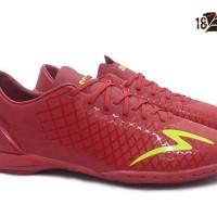 Sepatu Futsal Specs Accelerator Exocet IN Dark Red- Art 400680