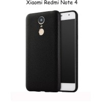 Xiaomi Redmi Note 4 Backcase Leather Texture Alivo Back Cover Softcase