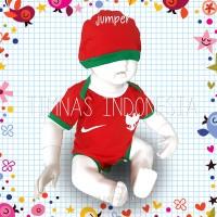 baju bayi jumper timnas bola indonesia - S