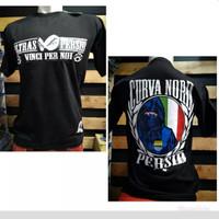 Baju Warna Hitam Persib Ultras Curva Nord Original Pria Wanita