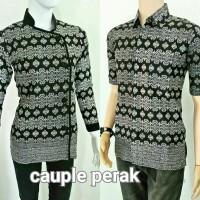 Baju Batik couple atasan/Baju Batik sarimbit anak muda