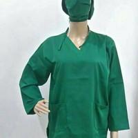 Baju OK Plus Bordir Nama Dan Ukuran Khusus XXL Lengan Panjang