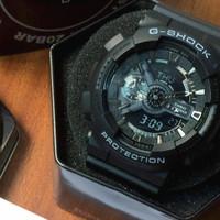 Jam Tangan Casio G-Shock GA 110 Full Black Original BM