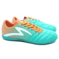sepatu futsal Specs Equinox IN (Comfrey Green/Spirit Orange/White)