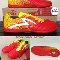 Sepatu Futsal Specs Equinox Red Yellow Futsall