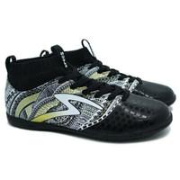 sepatu futsal Specs Heritage IN (Black/Gold/White)