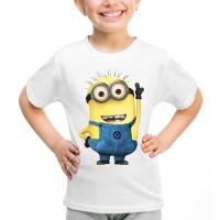 Kaos Baju Tshirt Anak Minion