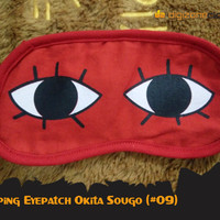 Penutup Mata Okita Sougo Kaca Mata Tidur Lucu Sleeping Eyepatch 09