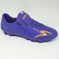 Sepatu bola specs original Accelerator Exocet Deep blue orange new