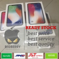 [TERMURAH] iPhone X 10 64gb 64 gb silver BNIB original apple