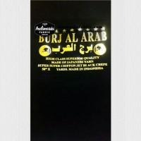 Kain Chifon Jetblack Sifon Jet Black Burj al Arab (roll)
