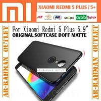 Xiaomi redmi 5+ 5 plus 5plus original casing case doff armor tpu matte