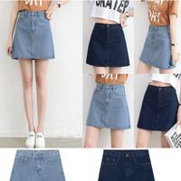 rok mini skirt jeans denim levis pendek wanita anak remaja casual