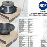 Speaker WOOFER RCF L 18 P500 / L 18P500 / LF 18 P500 18inch GRADE A