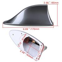 Antena sirip hiu atau Shark Fin Antenna untuk mobil KIA RIO