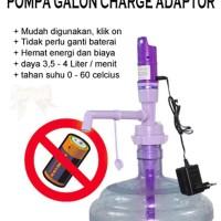 [UNGU] Pompa Galon Charge Adaptor / seperti system hp / elektrik