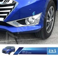 Daihatsu Sigra Cover Lampu Kabut JSL Aksesoris/Fog Lamp Cover Chrome