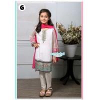 Baju India Anak Perempuan Pakaian Setelan Anak Tema India Warna Putih