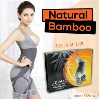 NATURAL BAMBOO SLIMMING SUIT - KORSET SLIMMING BAMBO (FSW-21)