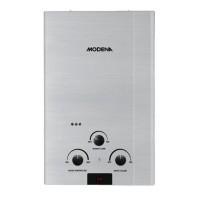 Dijual Water Heater Gas Modena Gi 10S Promo
