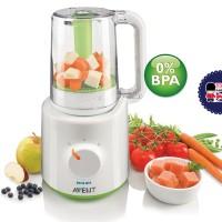 blender philips avent and steam kukus makanan bayi food processor