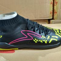 OBRAL Sepatu Futsal Specs Swervo Thunder Storm IN Black Original