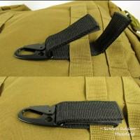 Quickdraw Carabiner Military Tactical Nylon Belt Backpack carrabiner