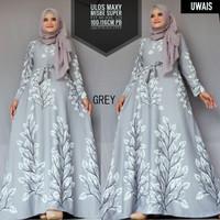 Baju Terusan Wanita Muslim Longdress Ulos Maxy