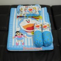 MURAH Matras Bayi Set Bantal Guling Karakter Doraemon Lucu
