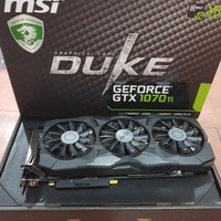 MSI GeForce GTX 1070 Ti Duke 8GB DDR5