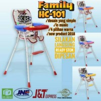 Family Baby High Chair HC-101 Meja Makan HC 101 IC Music New Product