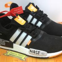 Sepatu Adidas NMD R1 x Off White NAST
